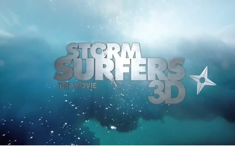 Store bølger i 3D med to legender.