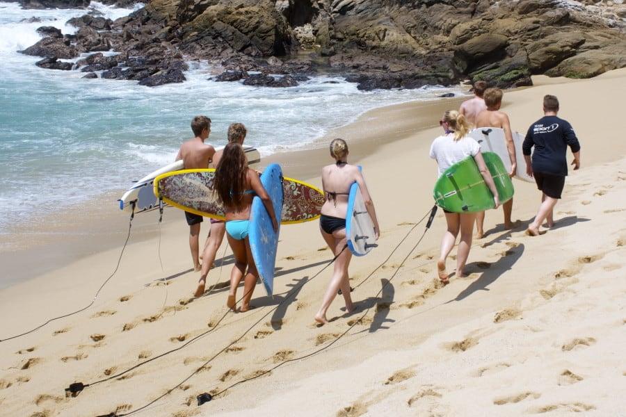Mexicobloggen dag 2 – Ekte surfeglede