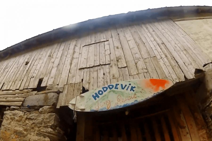 Herlig lite klipp fra Hoddevik!