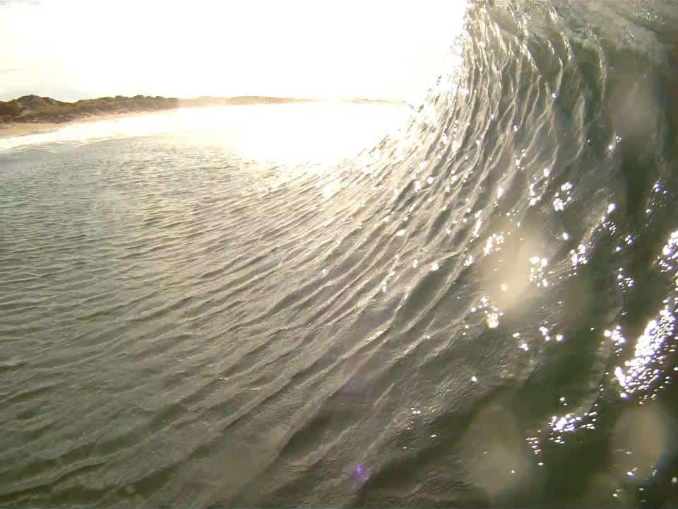 En liten surf edit fra Borestranden med Otto Prestmo