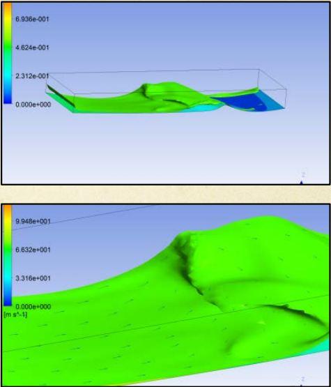 Forprosjekteringen og en grov skisse av utformingen av bølgen er allerede på plass!