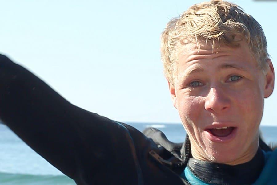 Eirik Jacobsen fra Stavanger vant X2 wave i Ervika