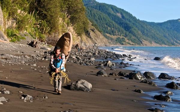 Endelig på vei innover The Lost Coast. Foto: Trond Wirstad
