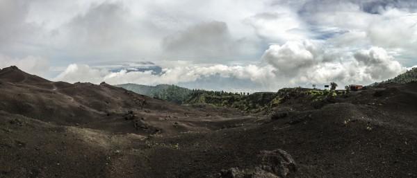 Vulkanutsikt fra Picaya, Guatemala