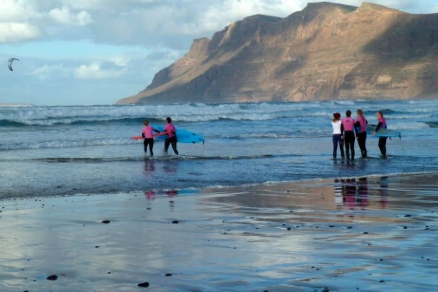 Wavesisters Lanzarote – En hilsen