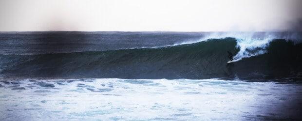 Surfer: Jan Erik Jensen, Foto: Ivar Vasstveit