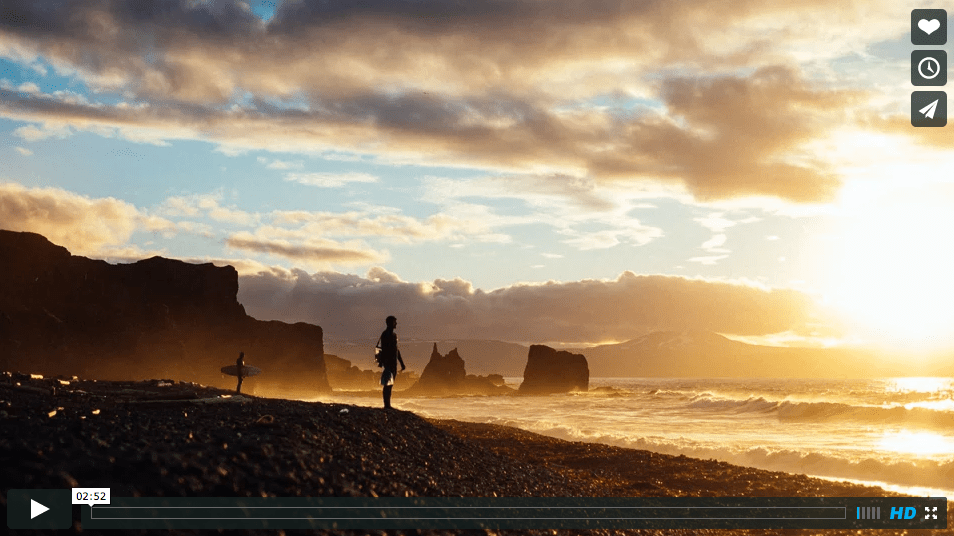 Headache, første kaldtvanns-surf film fra Tyskland