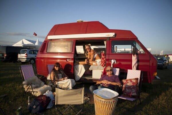 En gylden mulighet til å rigge opp camperen og ta seg en strandhelg Foto Hedda Rystad