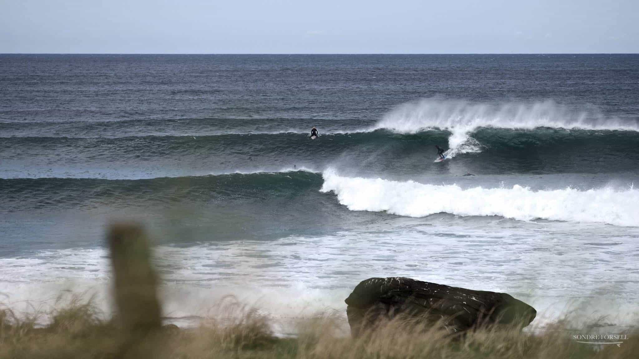 Et lite glimt av høstswell på vestlandet!