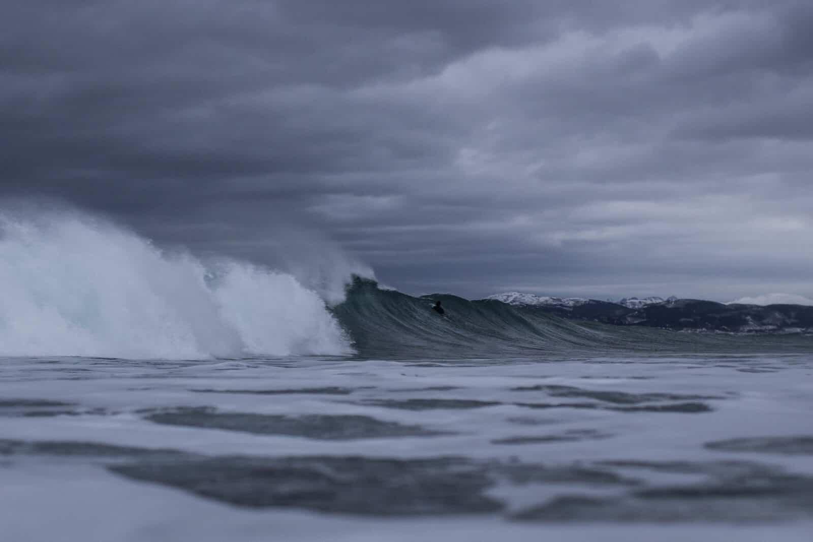 Ukjent surfer fra vestlandsområdet