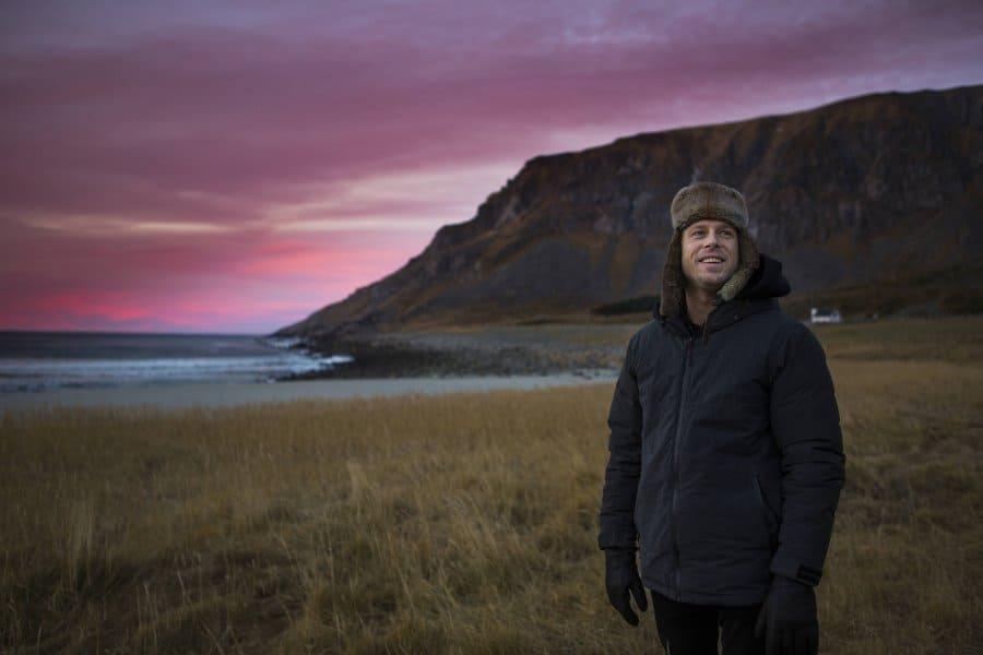 Mick Fanning og nordlyset – behind the scenes