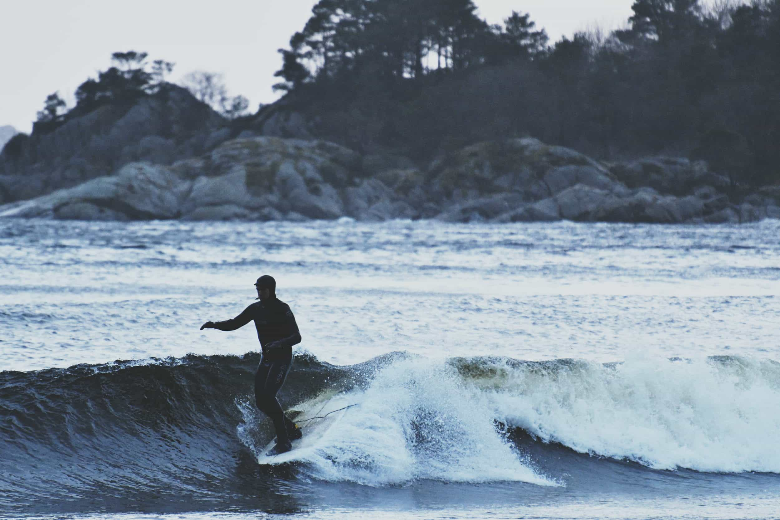 David Vanegan - Sjøsanden Mandal 22.02.17 matta_pe surfer