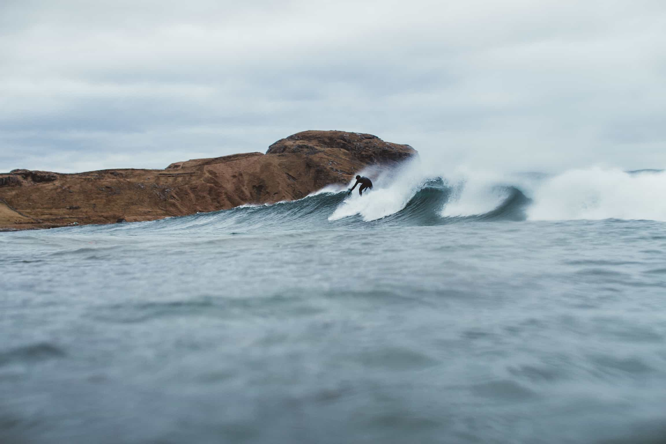 SurfNorge surfer i Ervika
