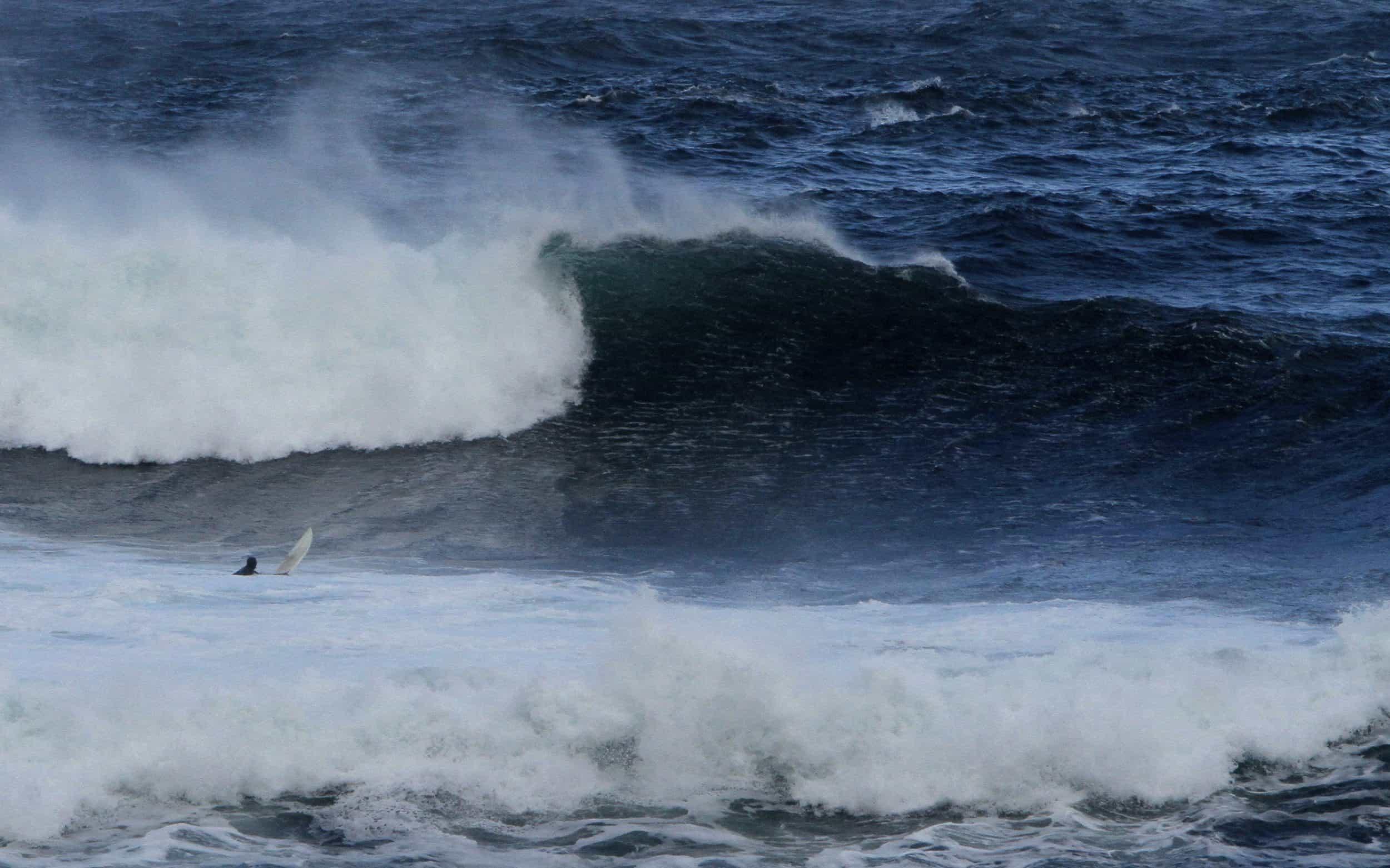 Stor bølge i Hoddevika eller Stad