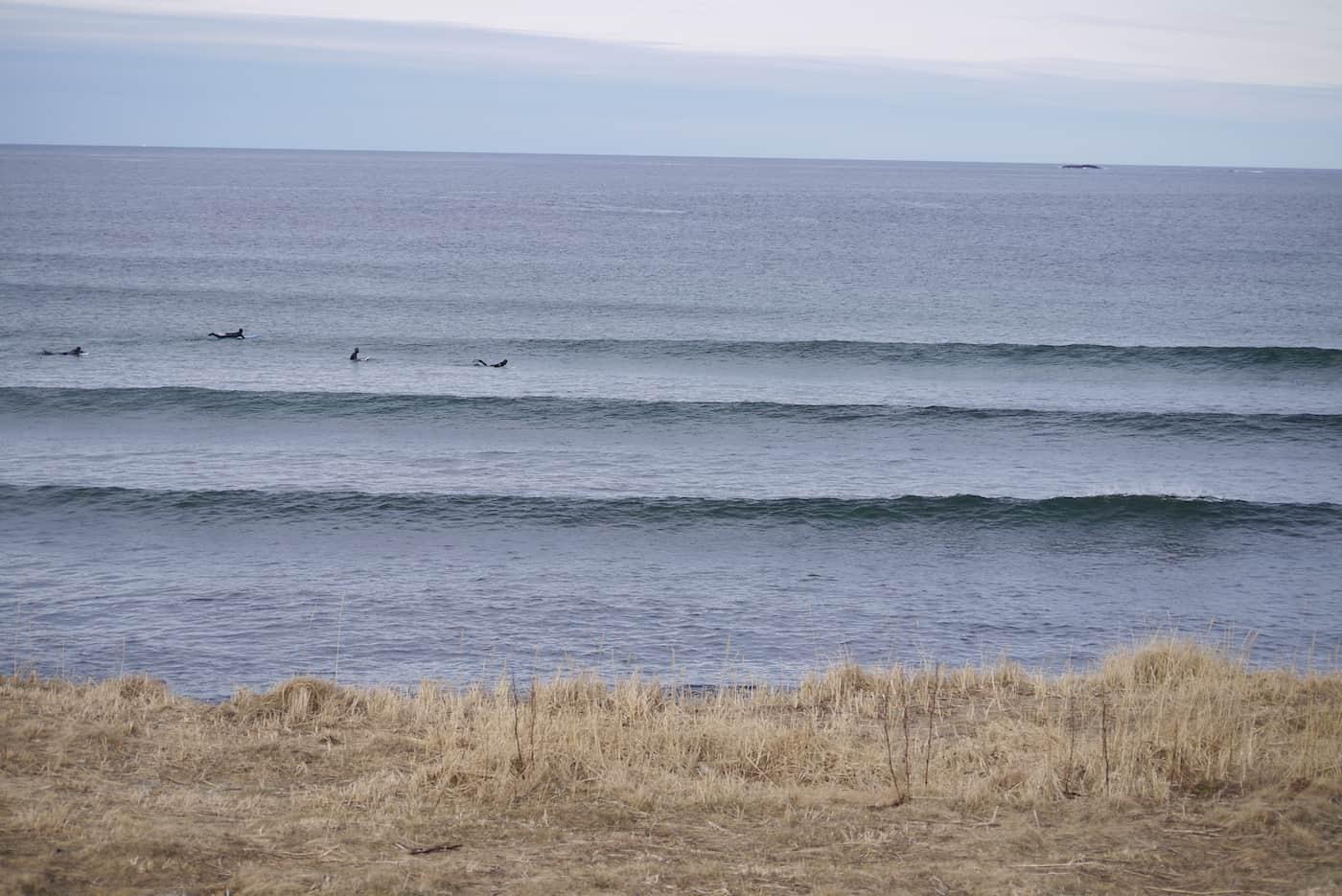 Linjer og bølger i Ervika