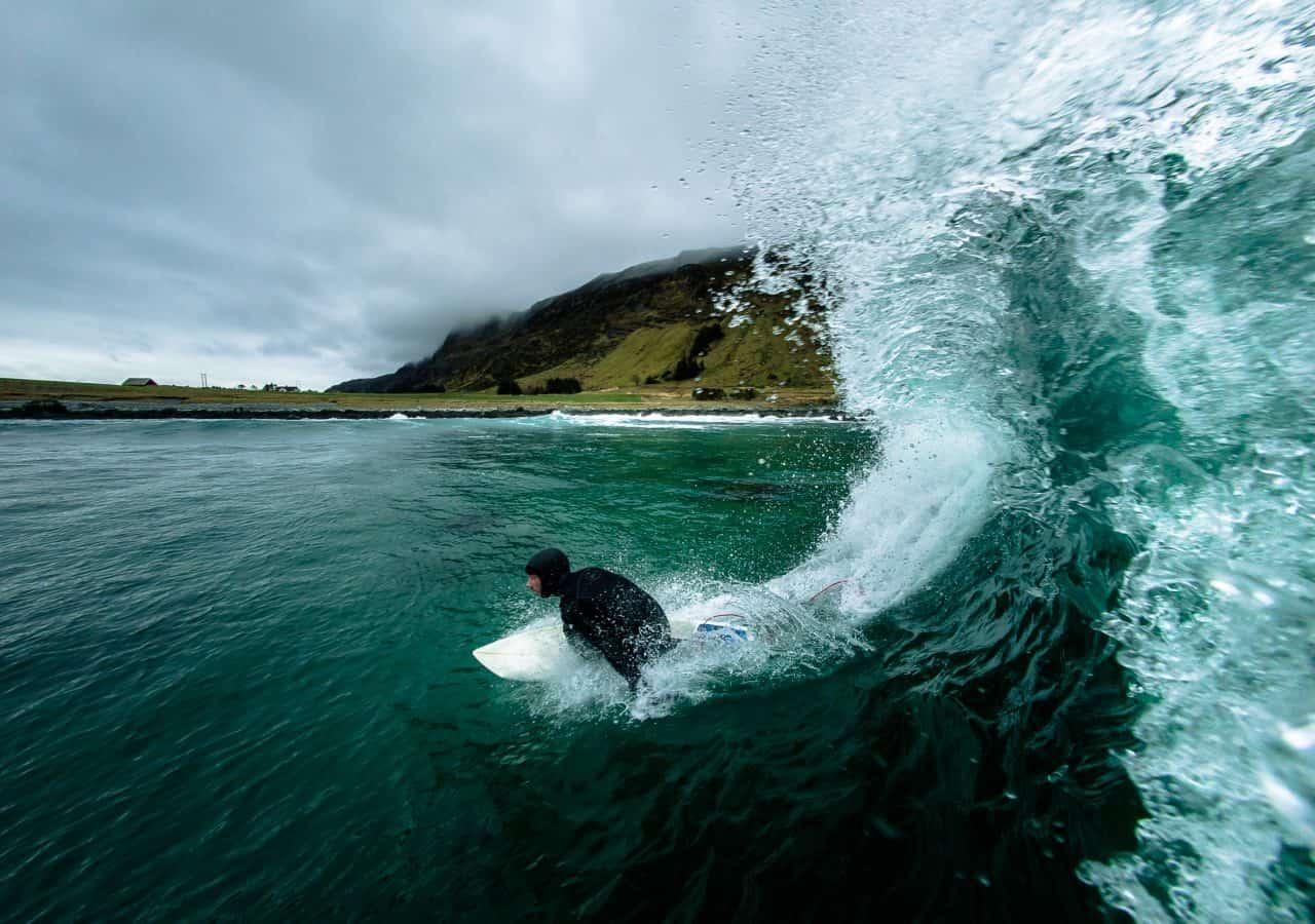 Et av mange bidrag til SurfNorge Photo Awards. Sendt inn av Fjordlapse i April 2017