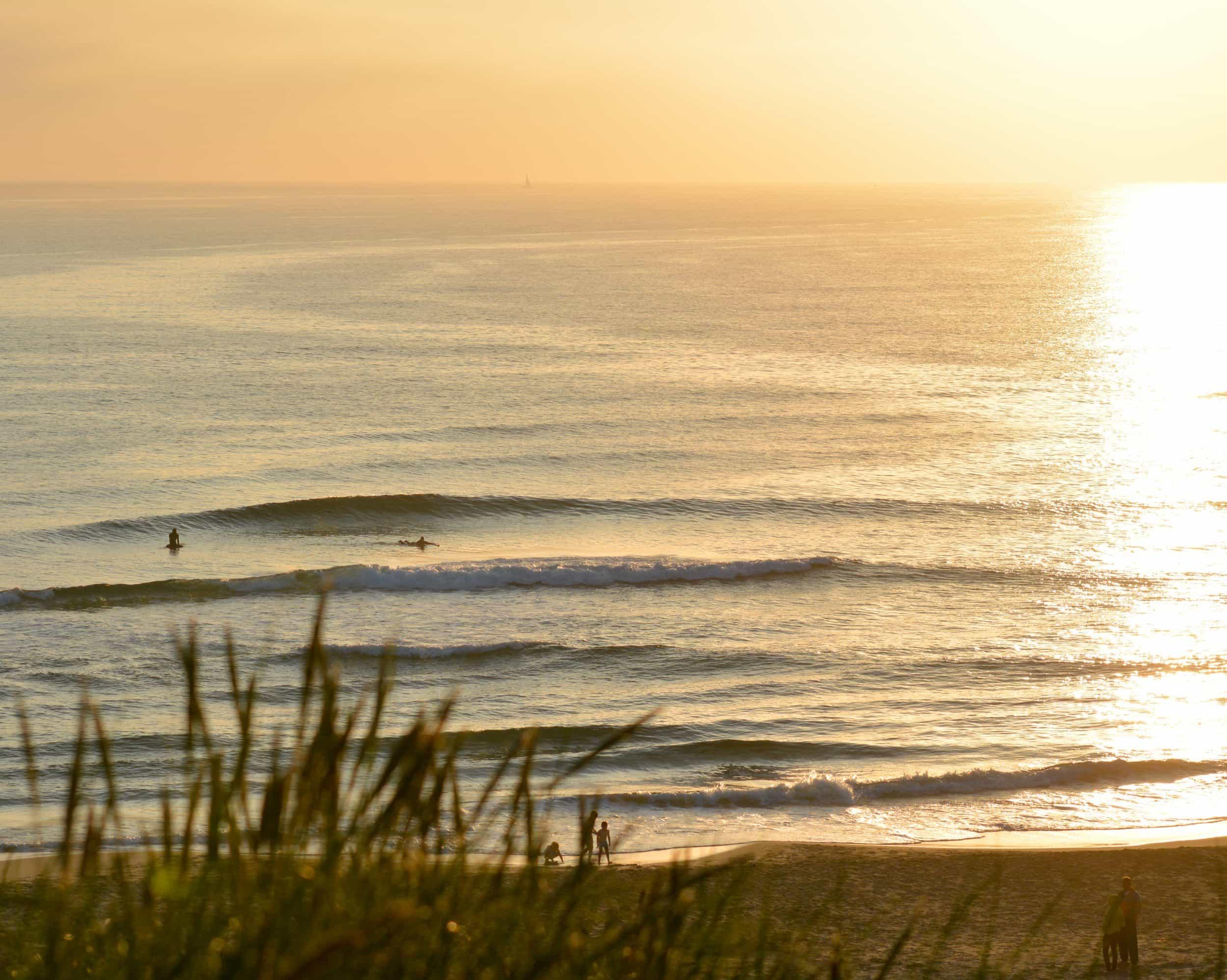 Victor Enoksen - 14/7, Jæren. Chill solnedgangs session med bra surf.