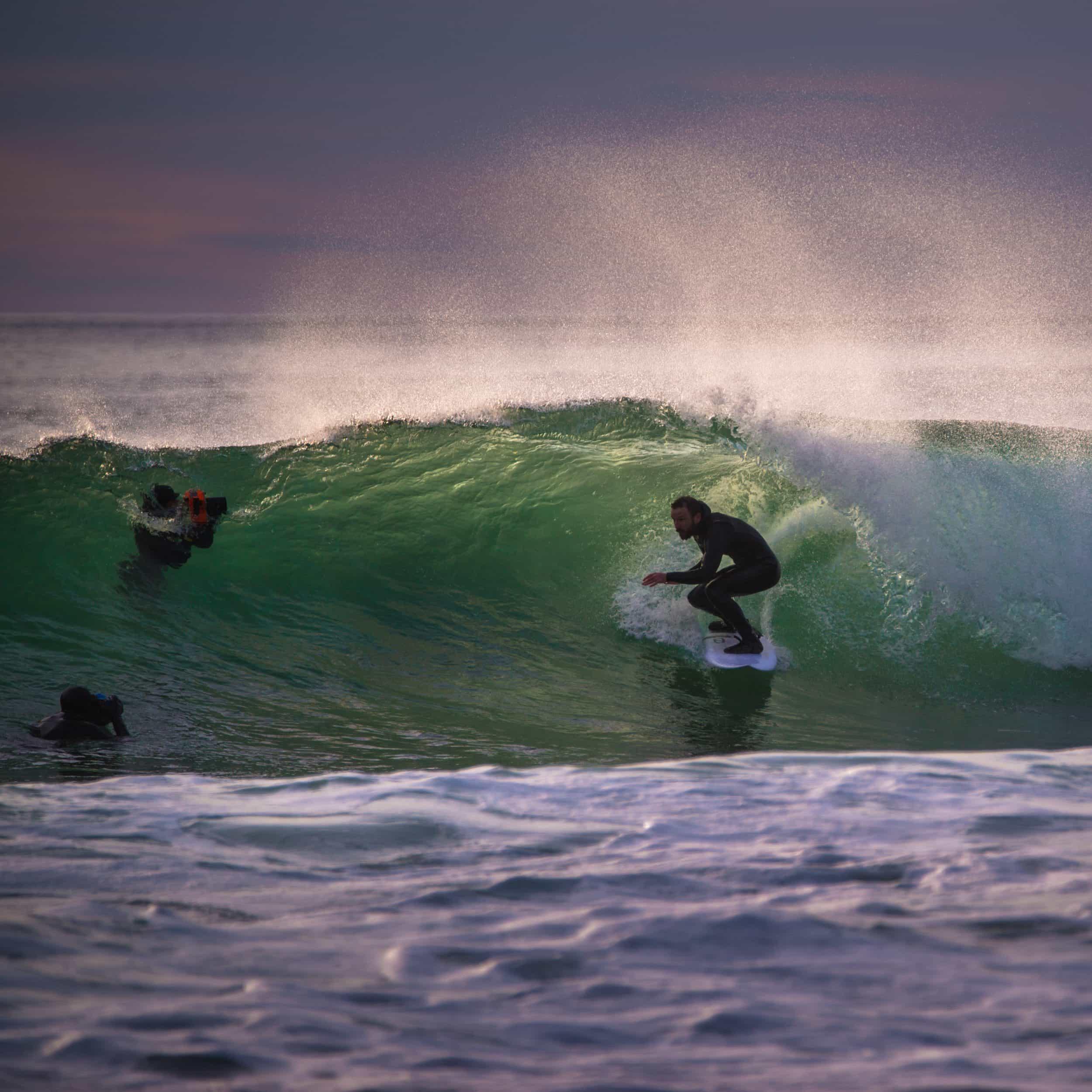 Andreas Wolden - 05.09.17,Unstad. Surfer Jean-Baptiste Debure