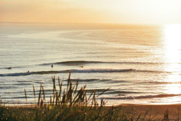 Sommer og sandbanker – surf på jæren