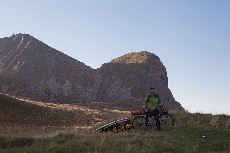 Sykler i Lofoten