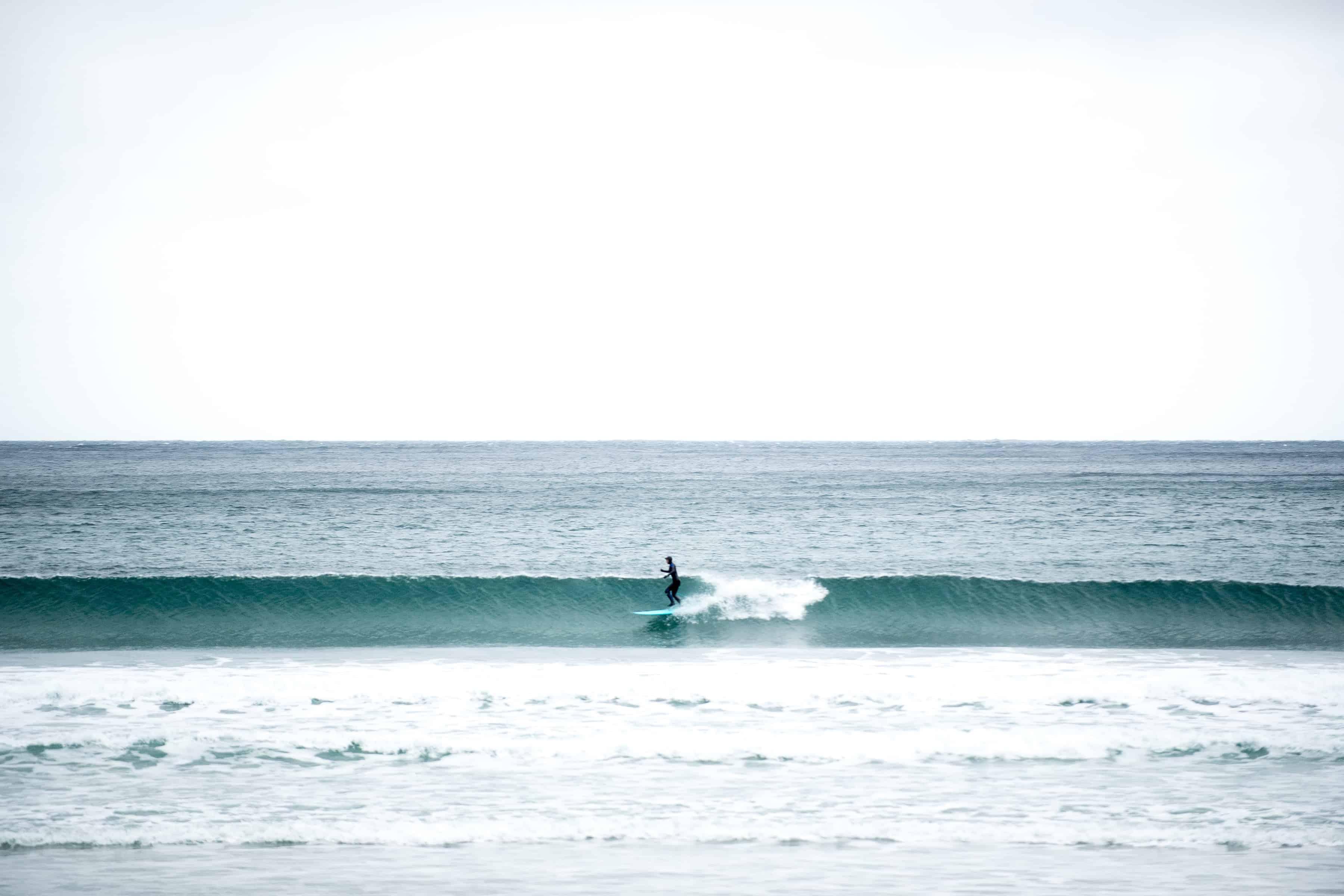 Surfing i Hoddevik