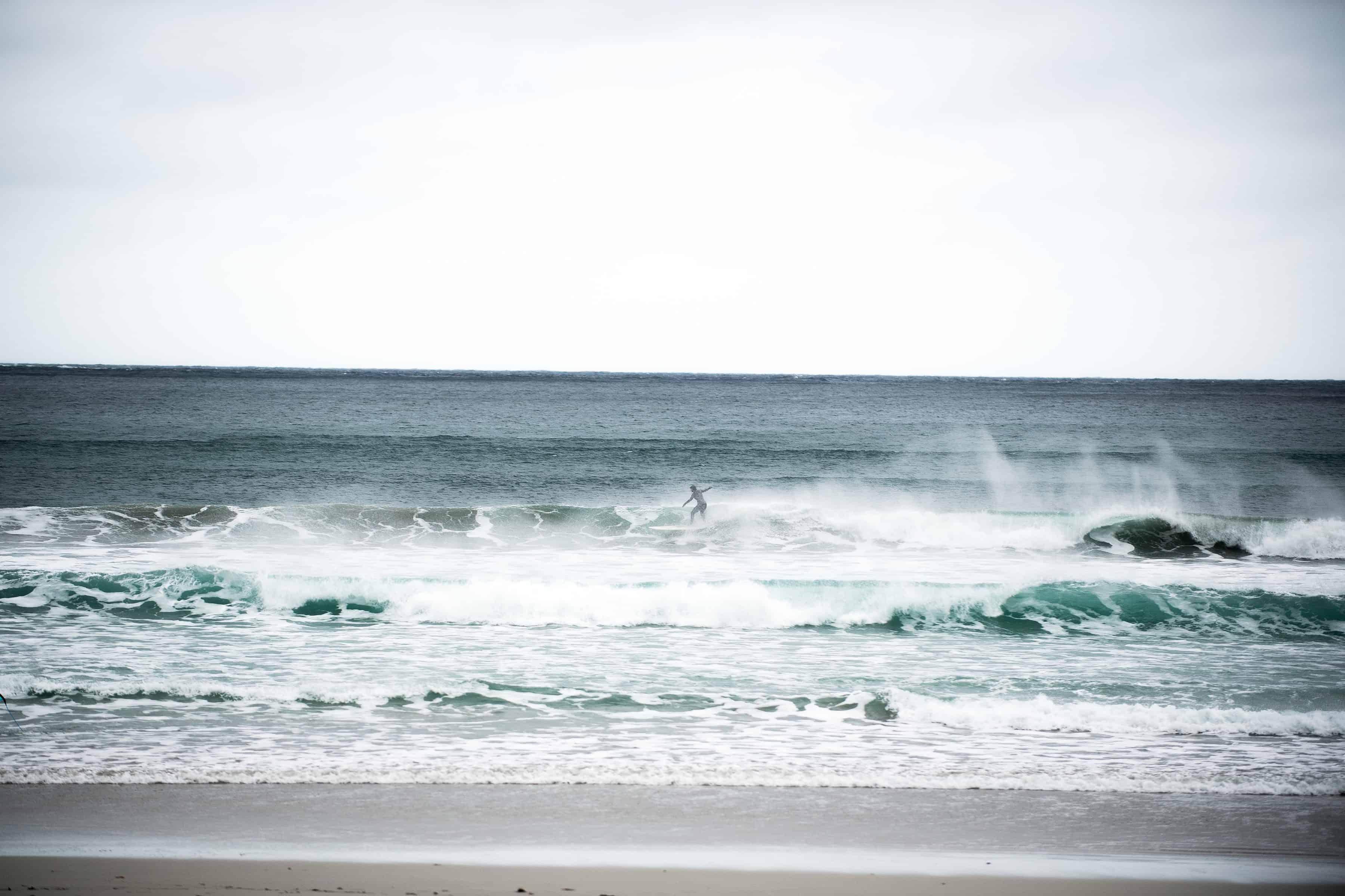 Vind og bølger i Hoddevik