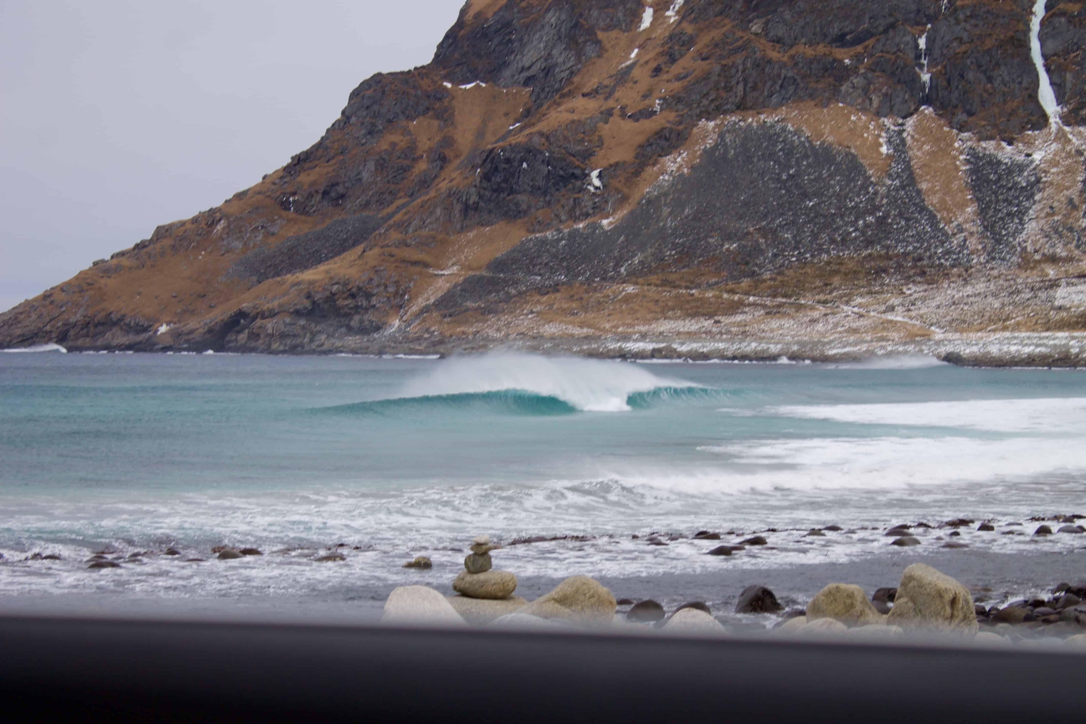 Bølger i Lofoten
