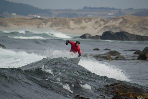 Det er klart for Norgesmesterskap i bølgesurfing