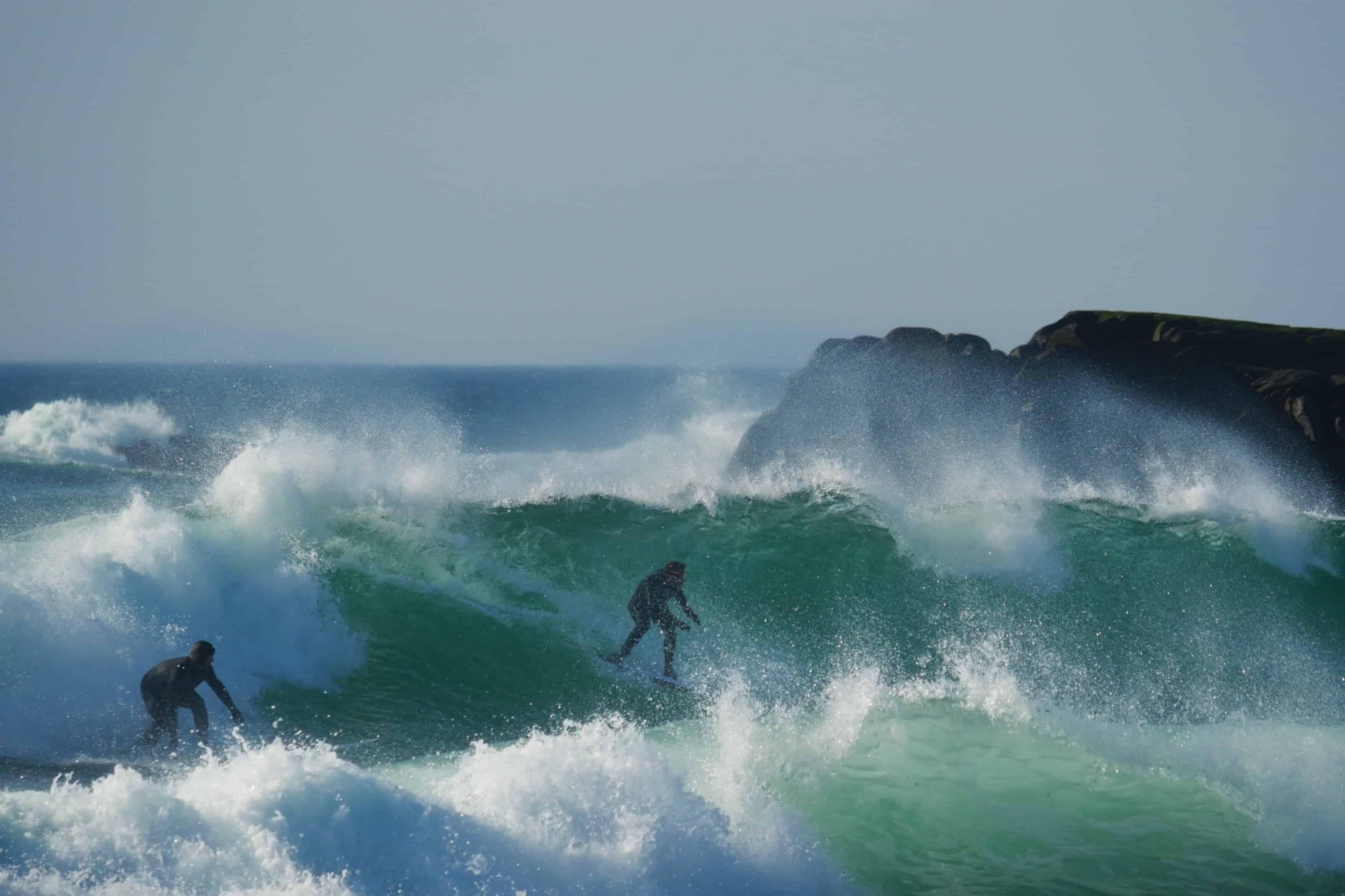 To surfere på en bølge.