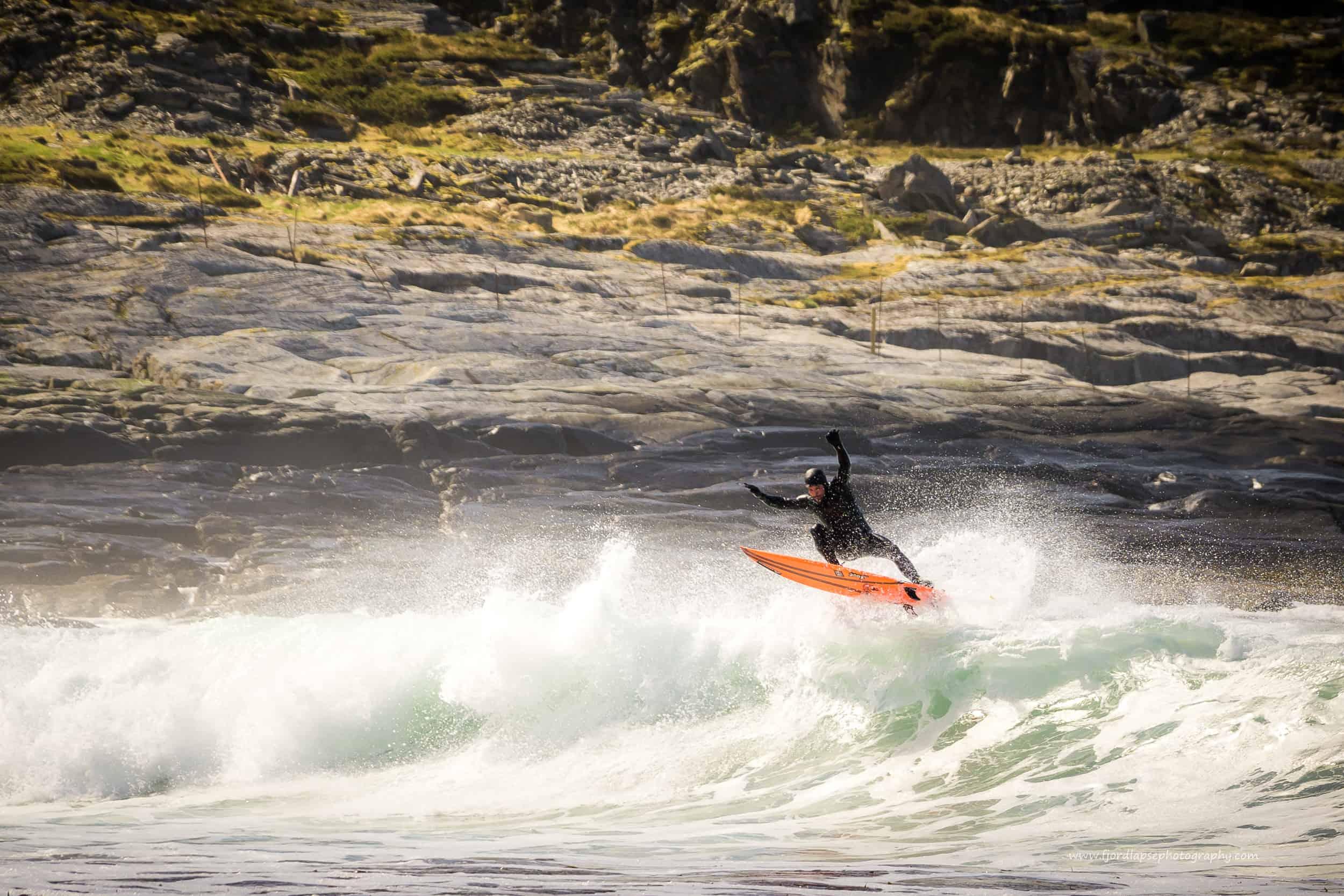 Seamus Fox surfer
