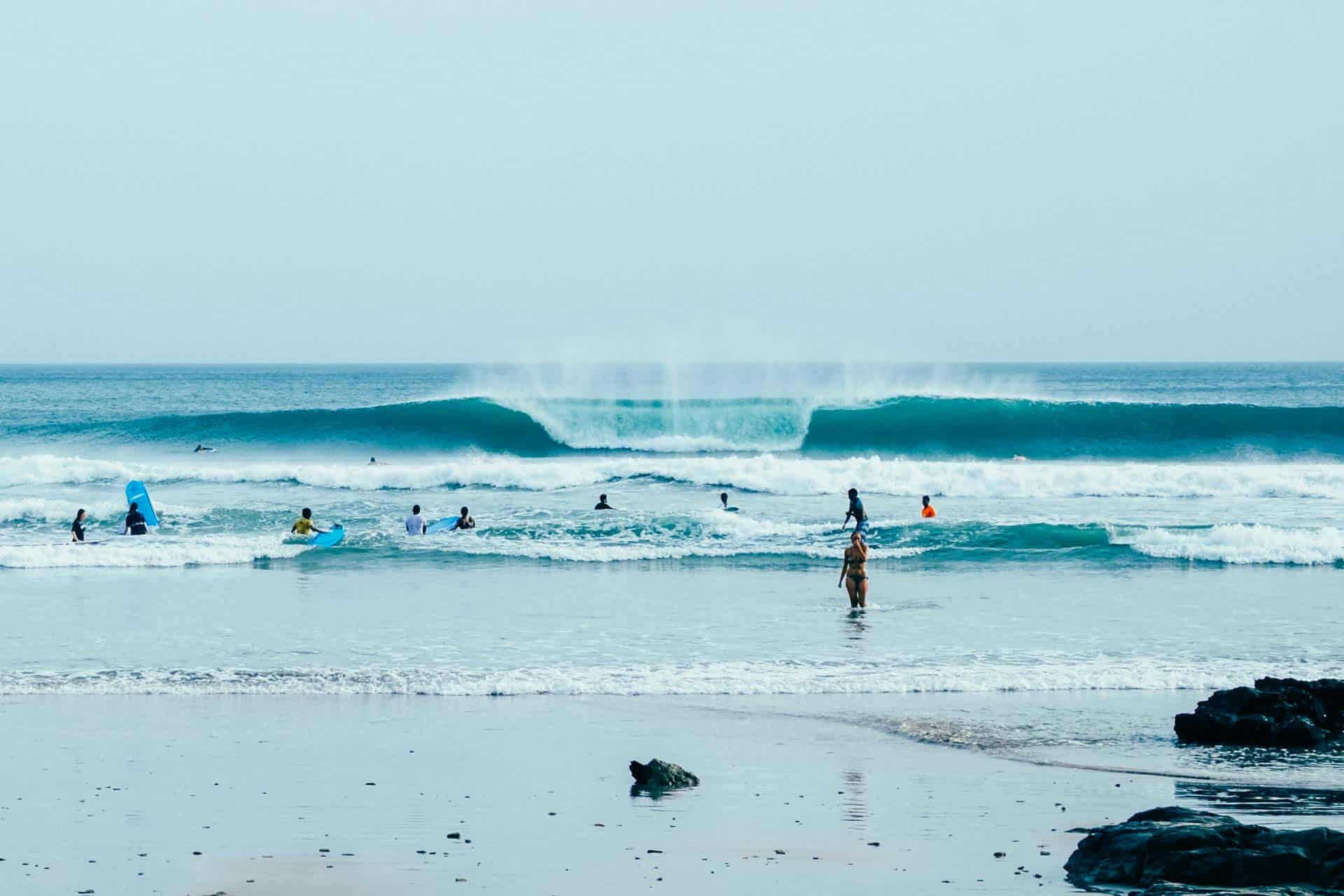 A-frame playa maderas