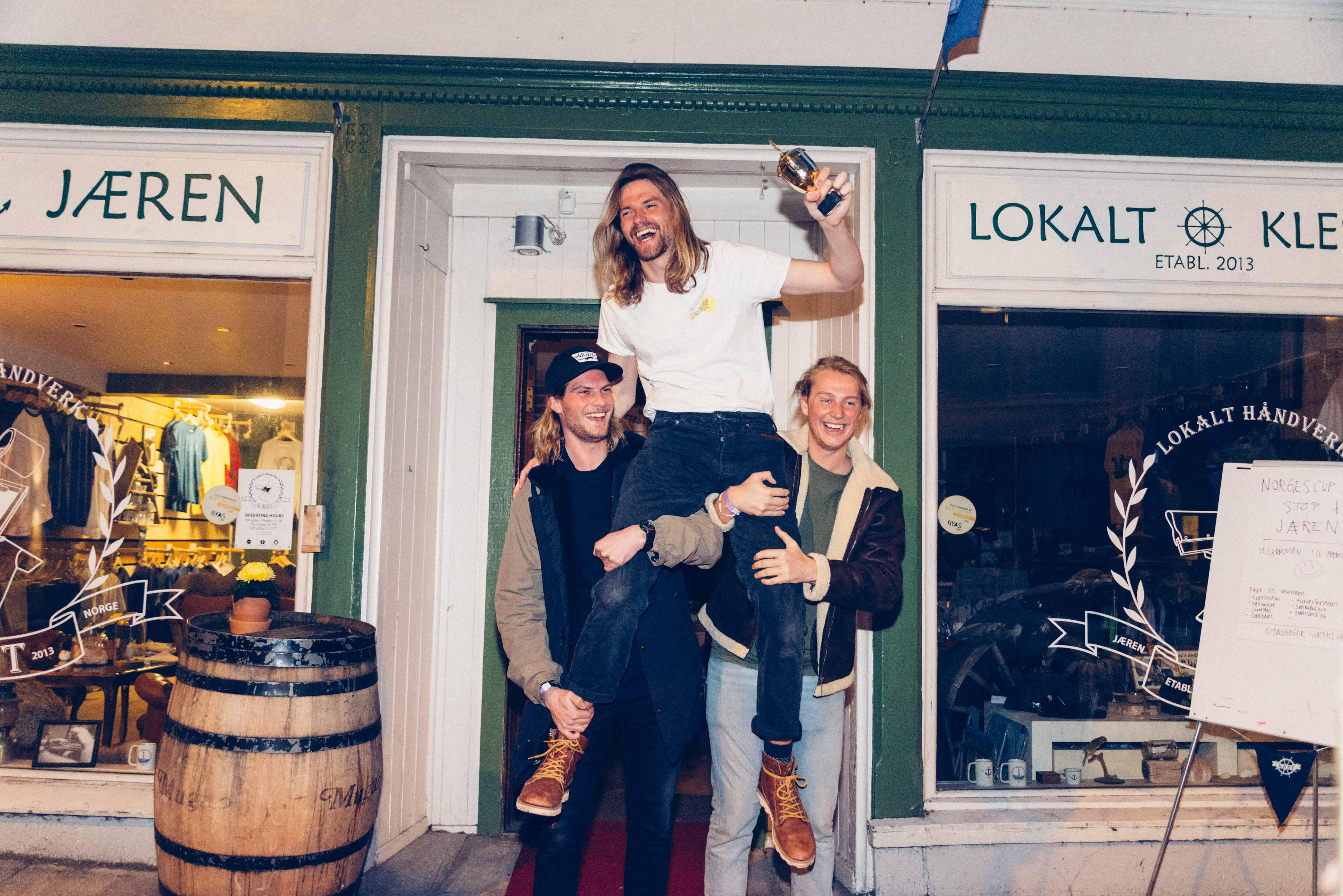 Love Berggren, vinner i Stavanger