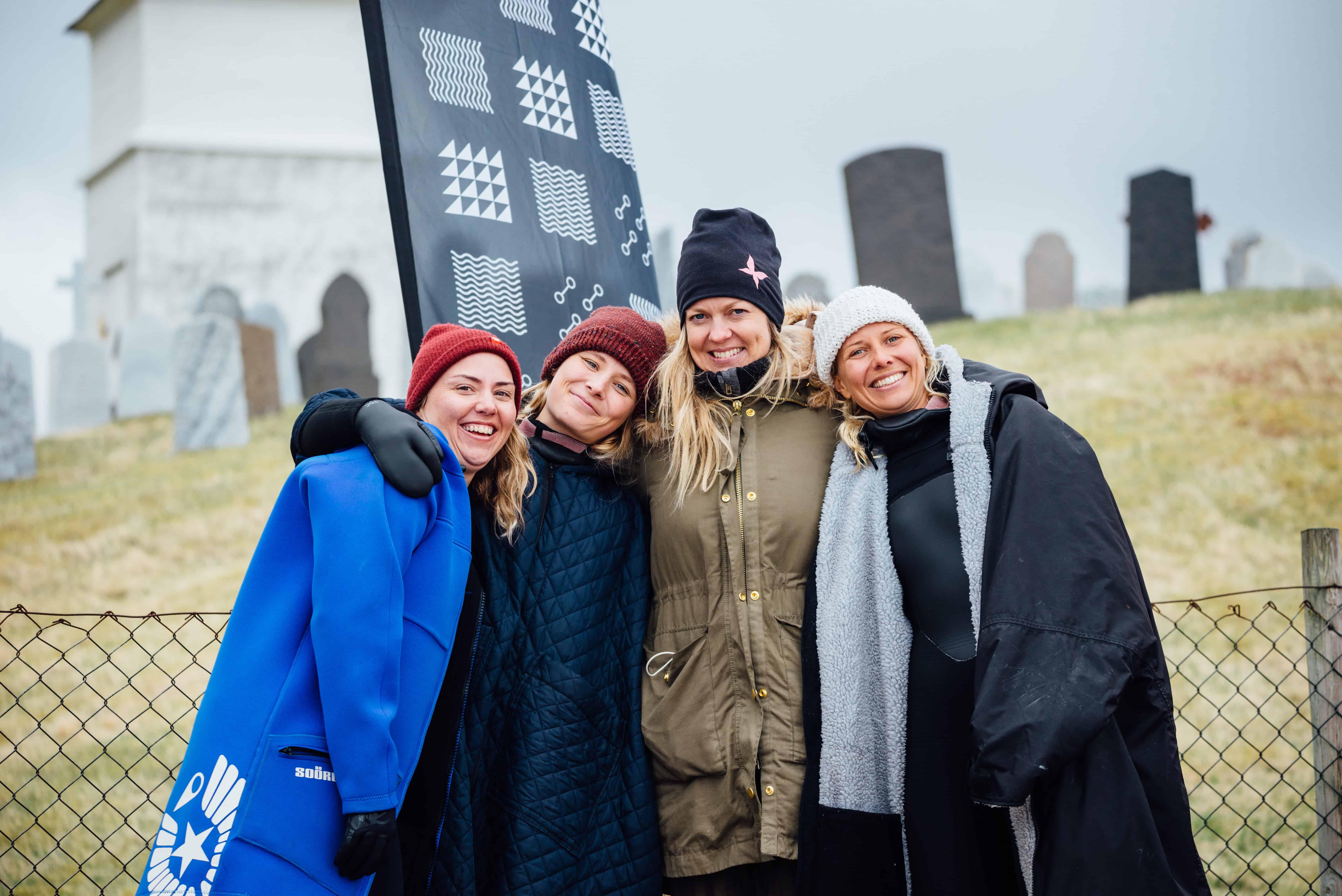 Glade damer - Foto: Kristine Tofte