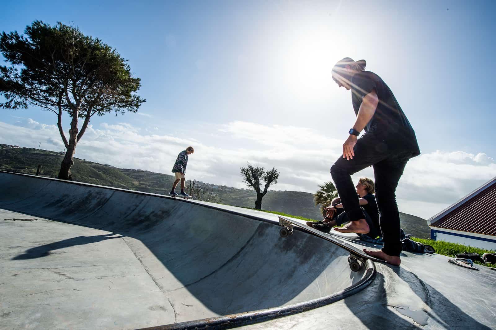 Surfskate trening i bowl fungerer ekstremt bra - Foto: Evelina Rönnbäck / lapoint