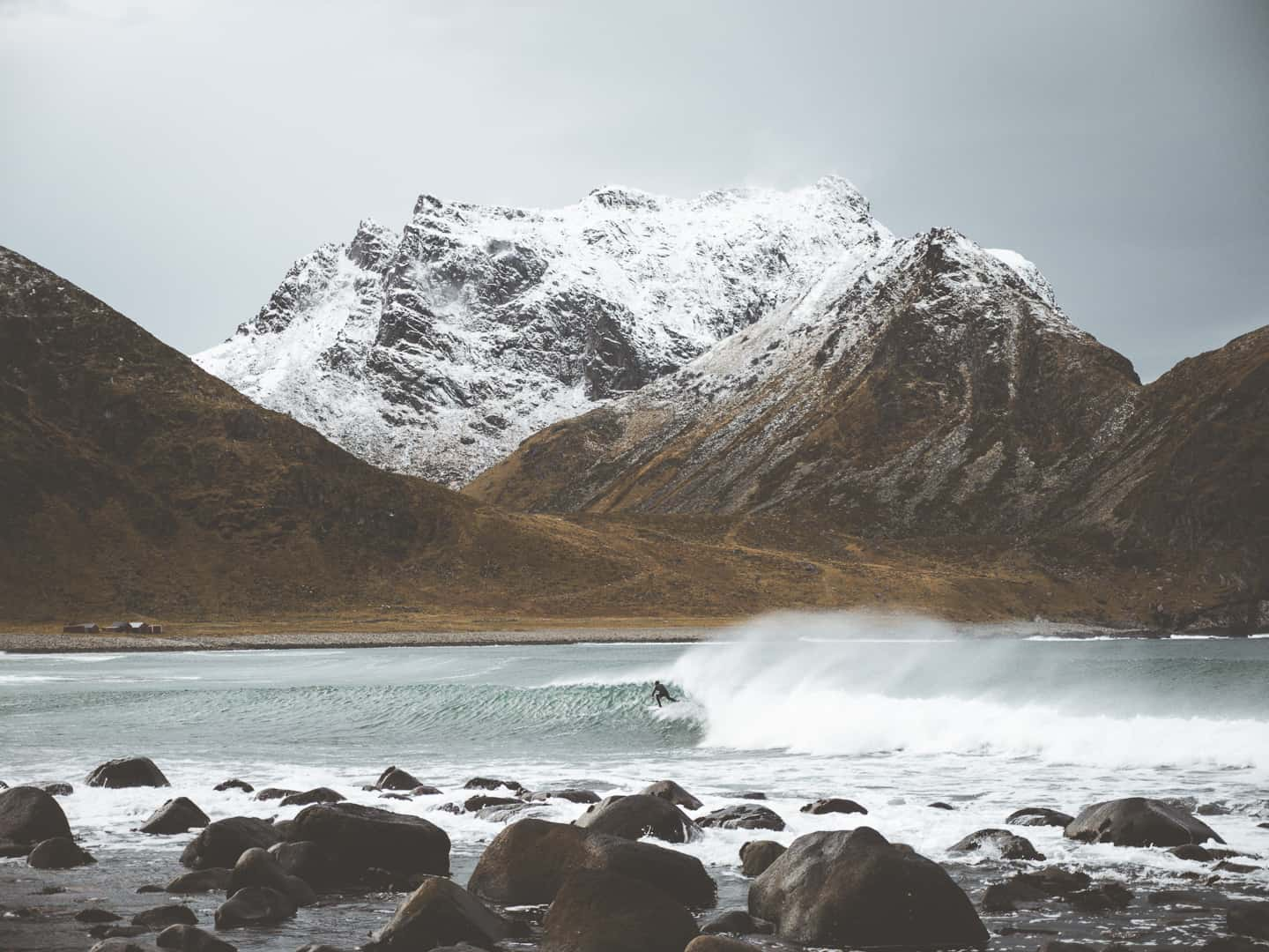 Surfers of Lofoten