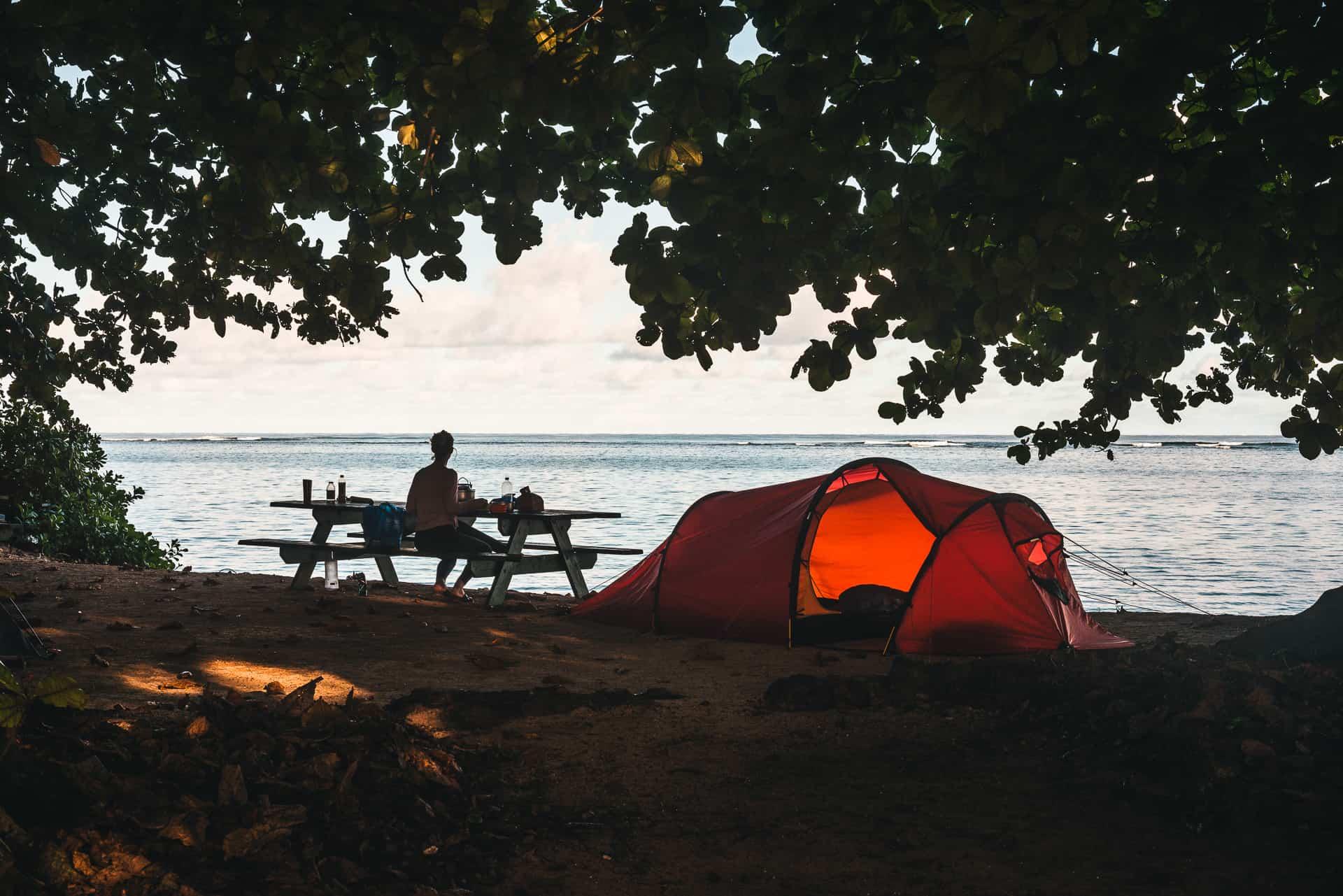 Glamping på Hawaii