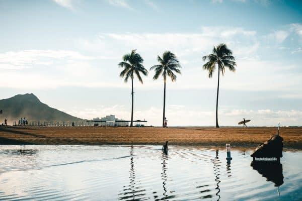Hawaii – Telttur i surfemekka – Mats Kahlström svir av gevinsten