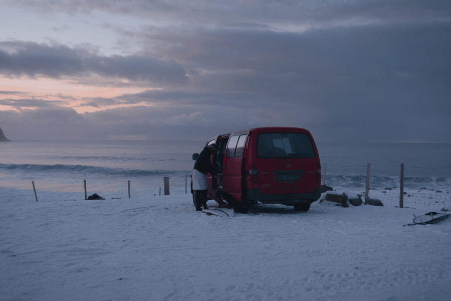 Surfers of Lofoten – episode 2 – the ice breaker