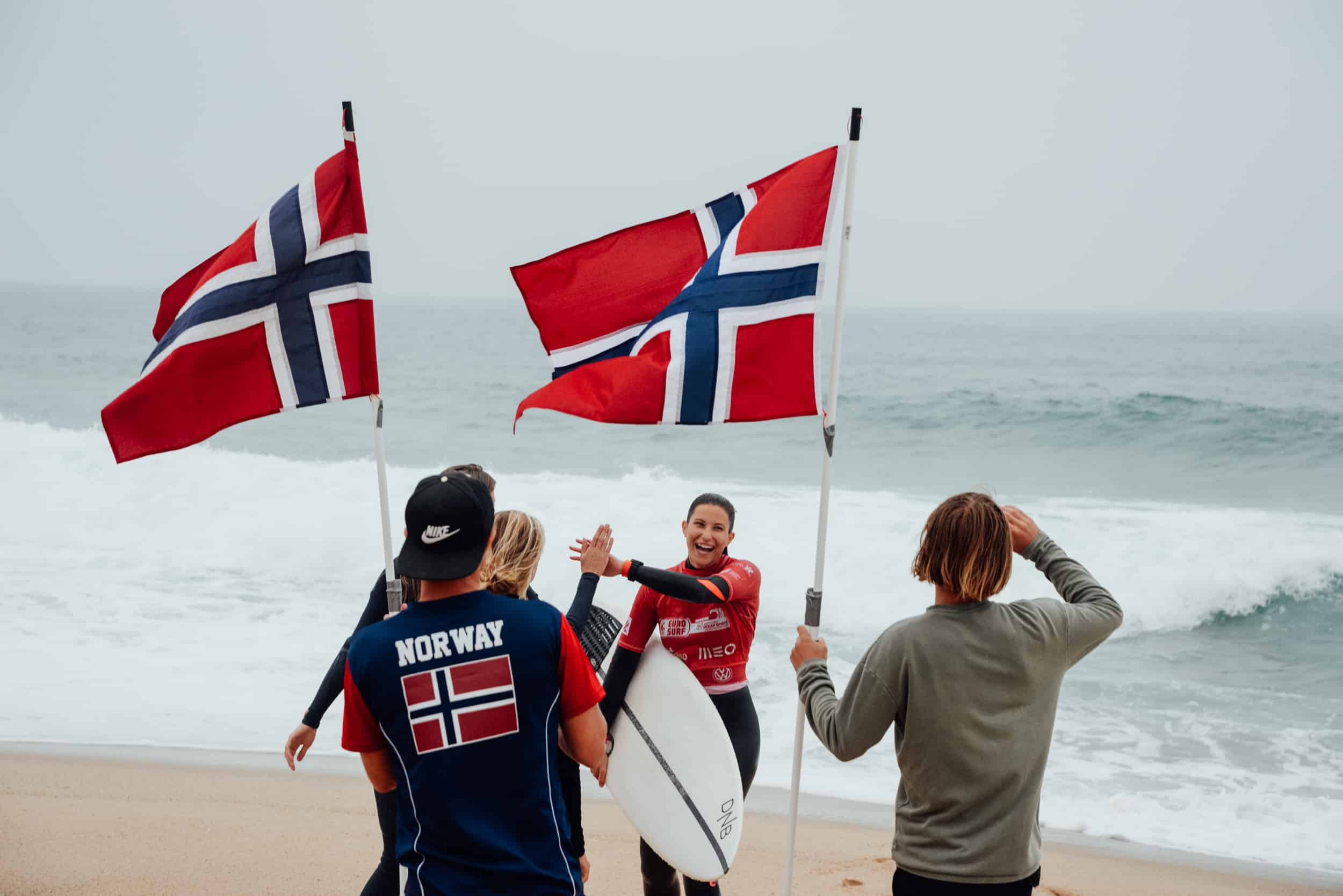 Heiagjengen tar i mot Åse Øydegaard