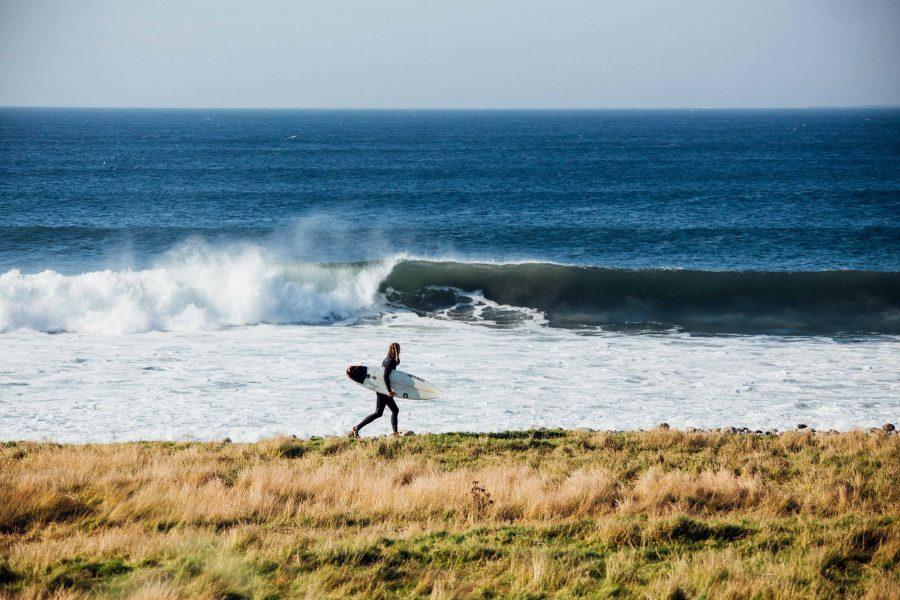 Ett swell, en dag, 3 spots