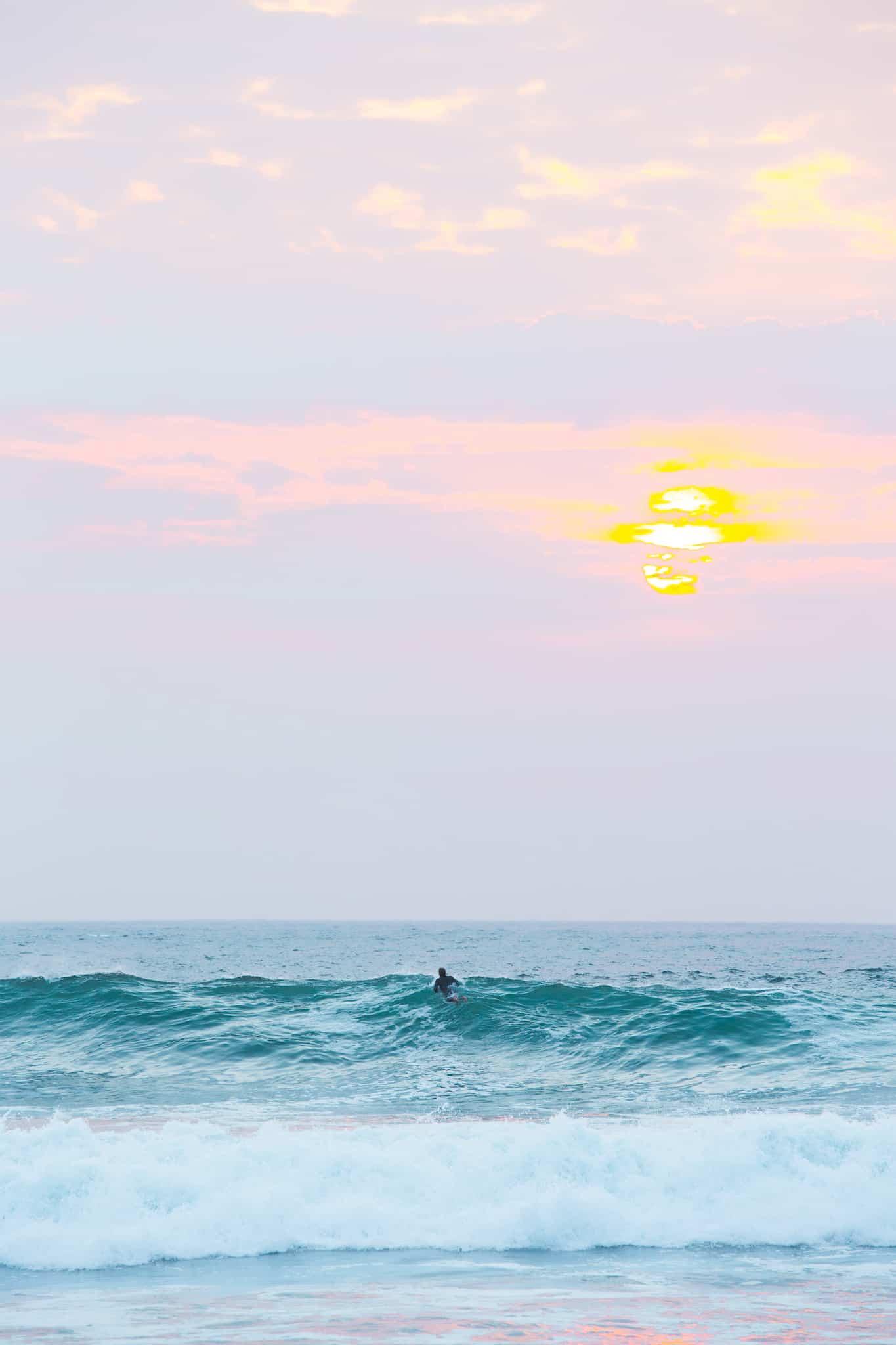 En real solnedgang i Ervika - Salt'n Wax