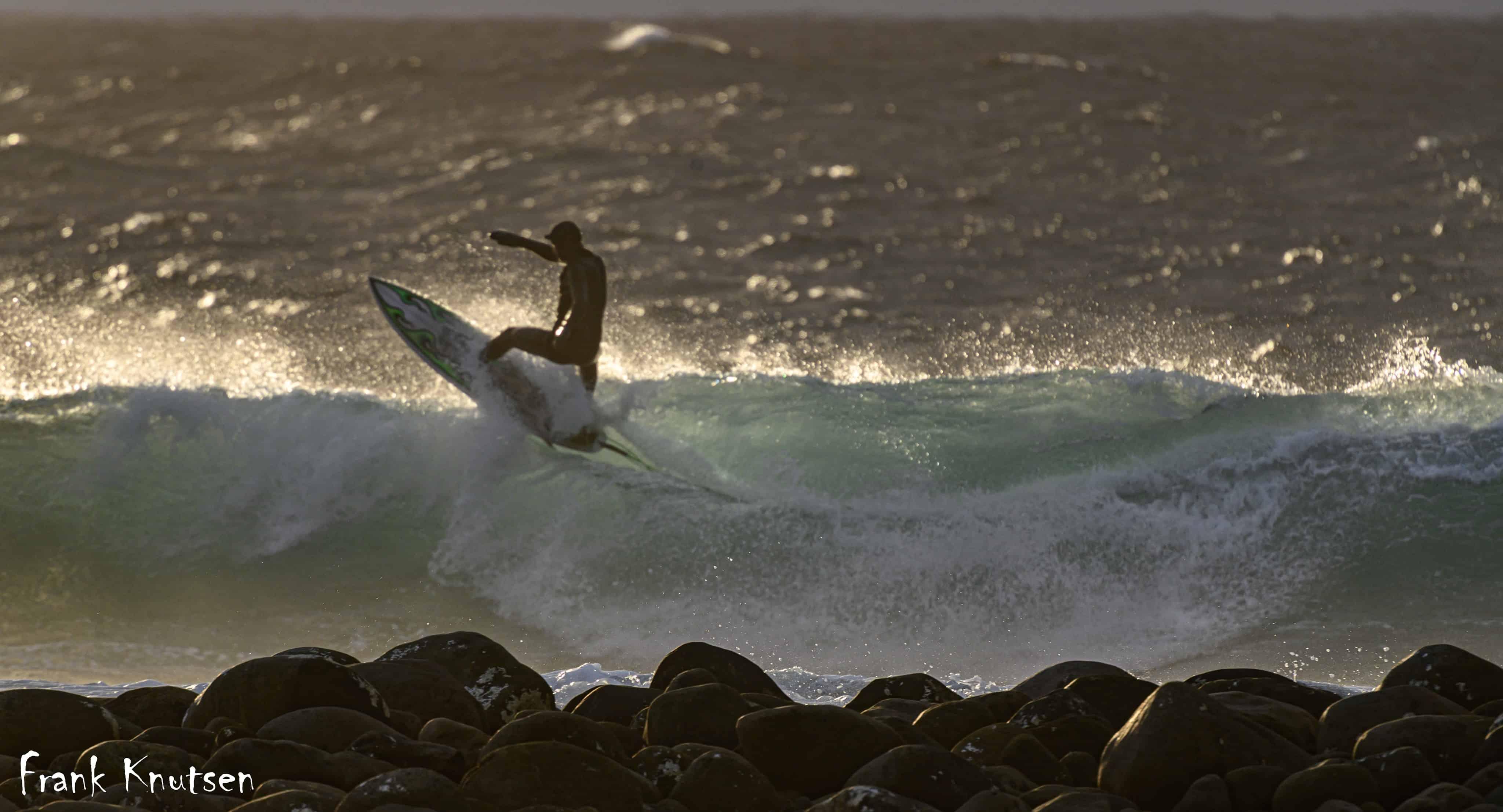 Surfer: Mikael Brodschöll, Foto: Frank Knutsen