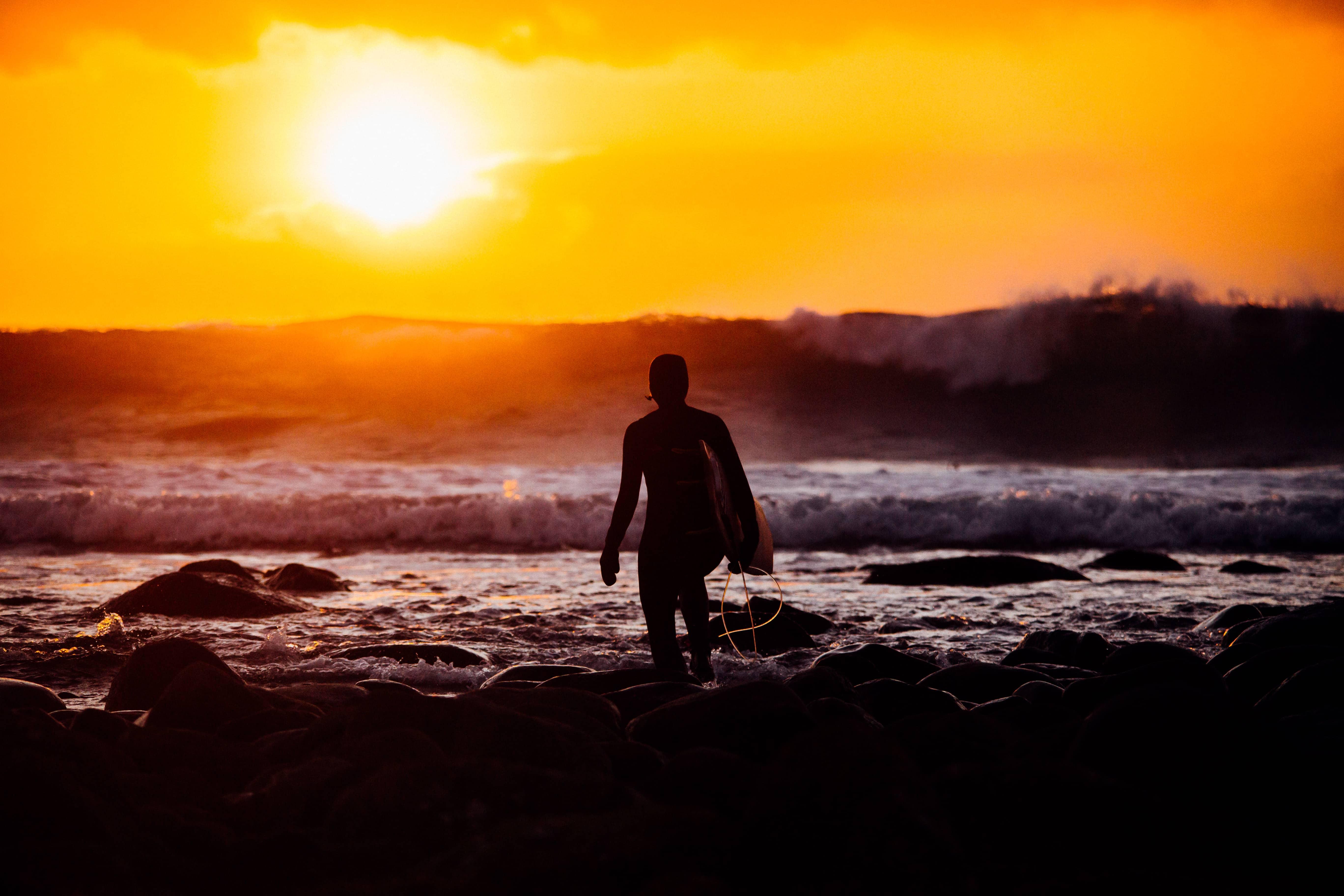 Sinnsyk solnedgang. Foto: Ivar Vasstveit
