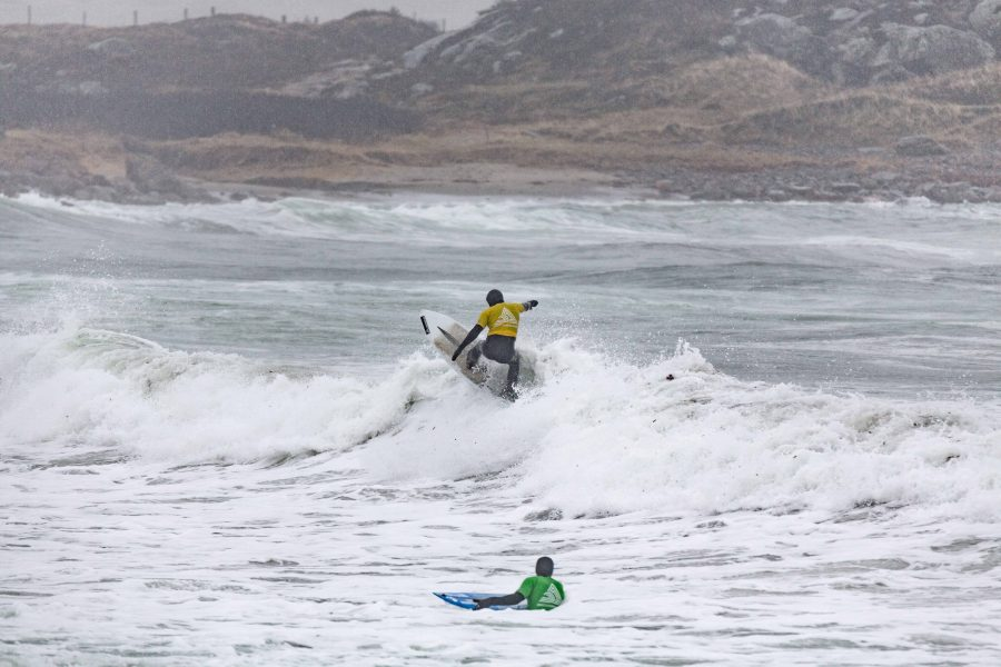 Typisk norsk surf – Norgescup på Lista.