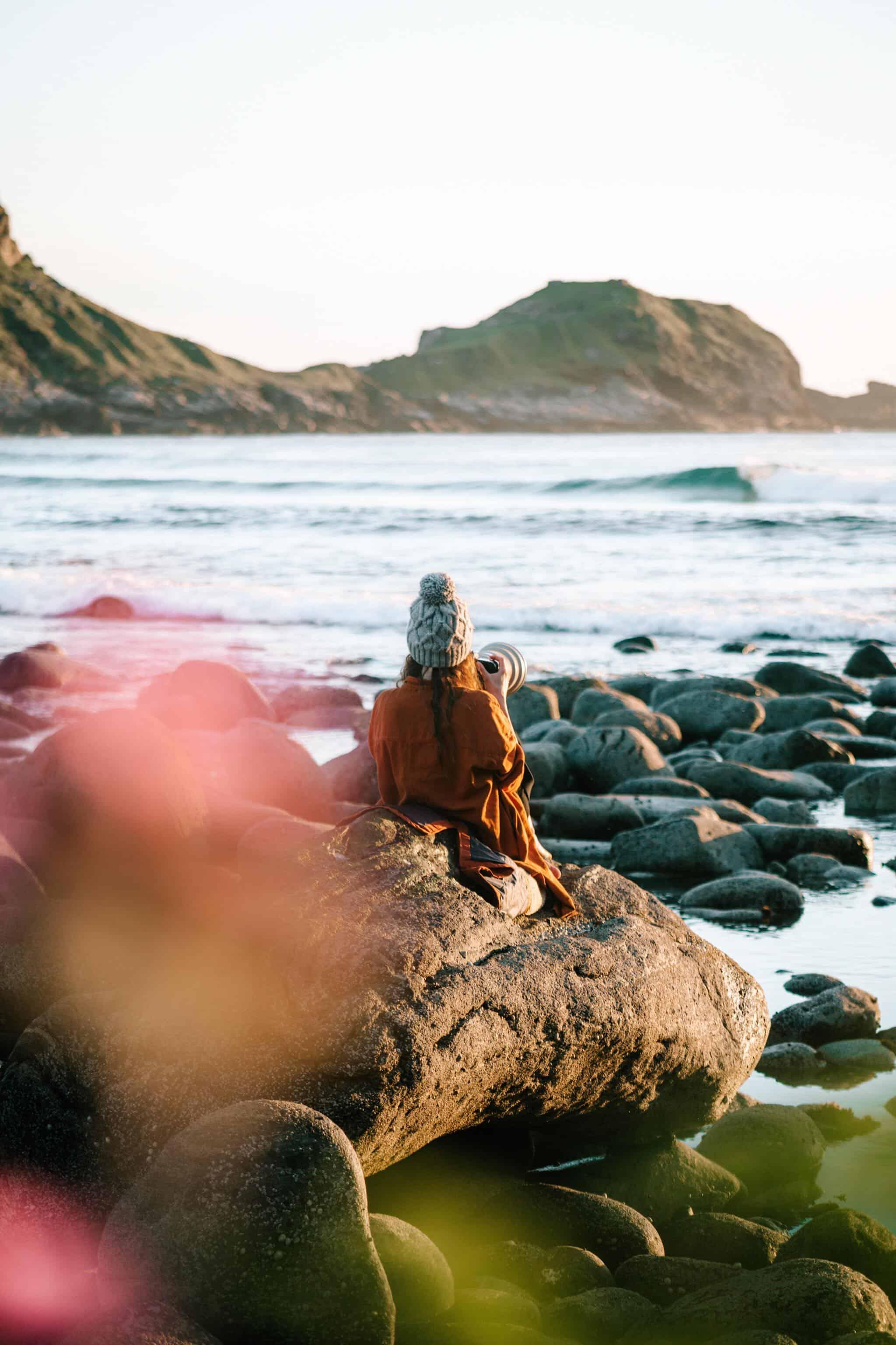 Camilla fanger havets øyeblikk