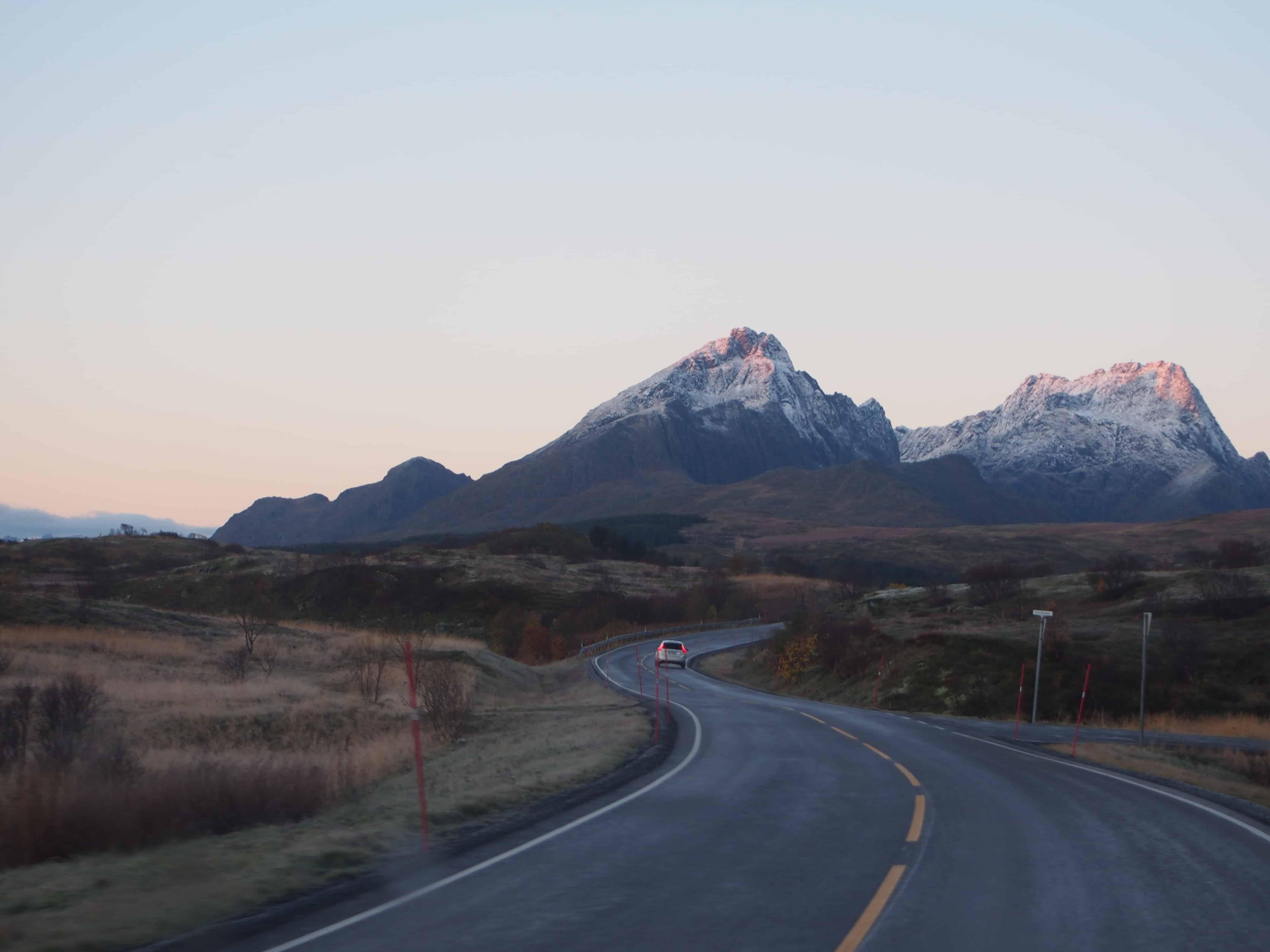 Veien til fjell