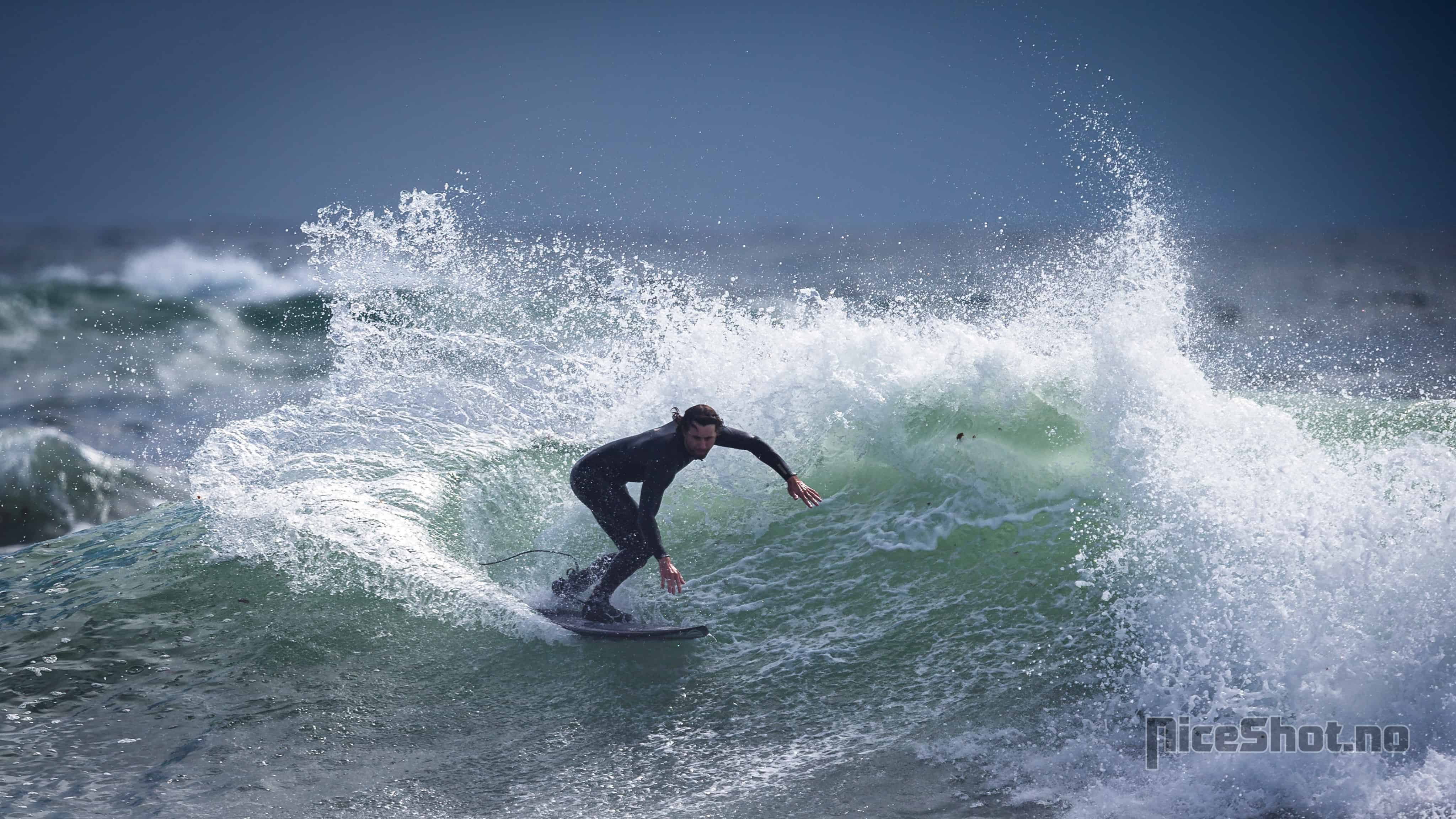 Joachim Nyhaugen på ferie i sør. Foto: Tom Ivar Arntsen @NiceShot.no