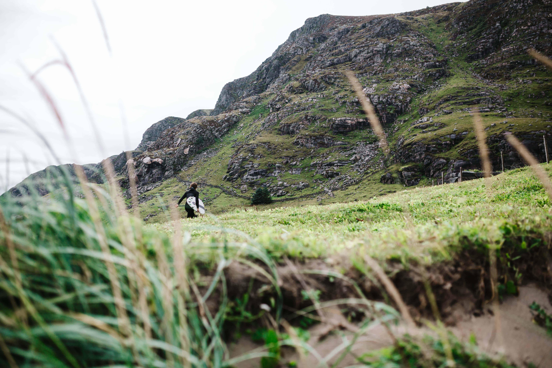 Veien til bølgene. Foto: Saltnwax