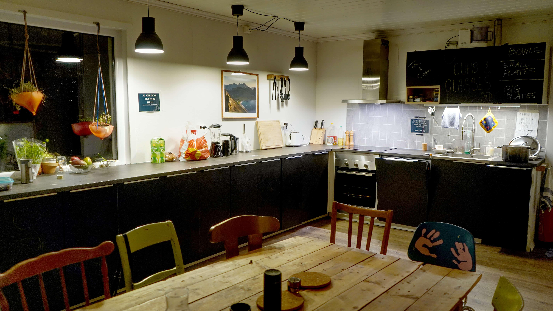 Kjøkken og spiseområde