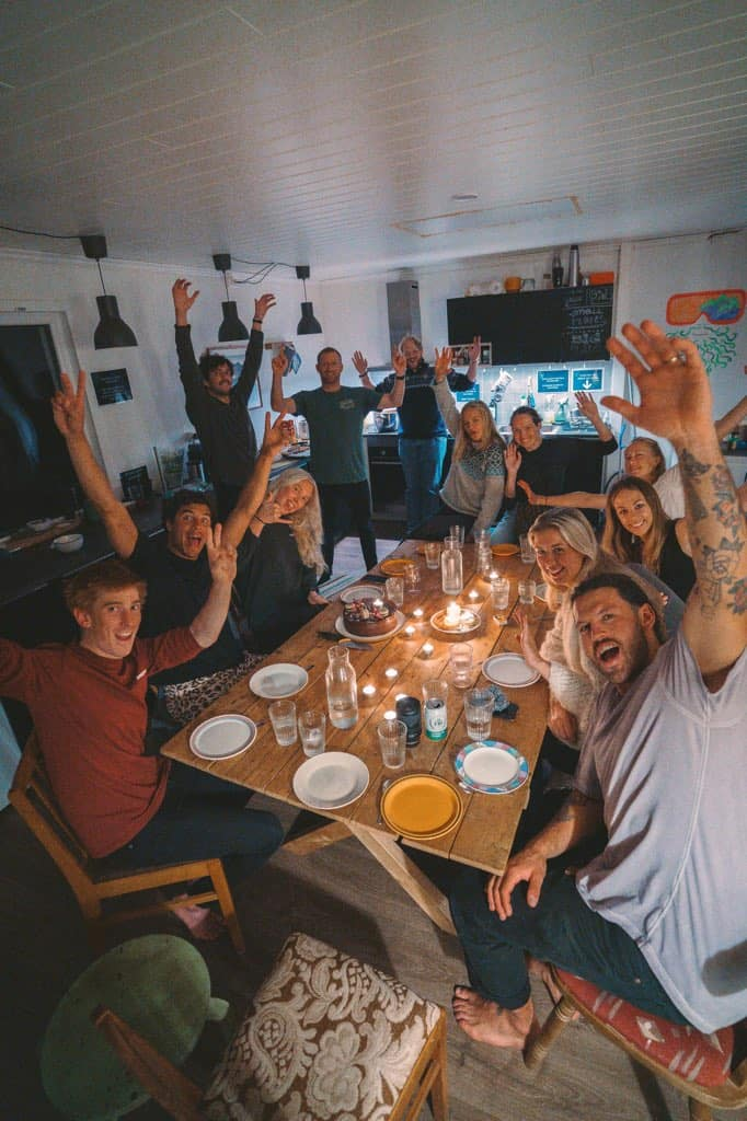 God stemning rundt felles måltid